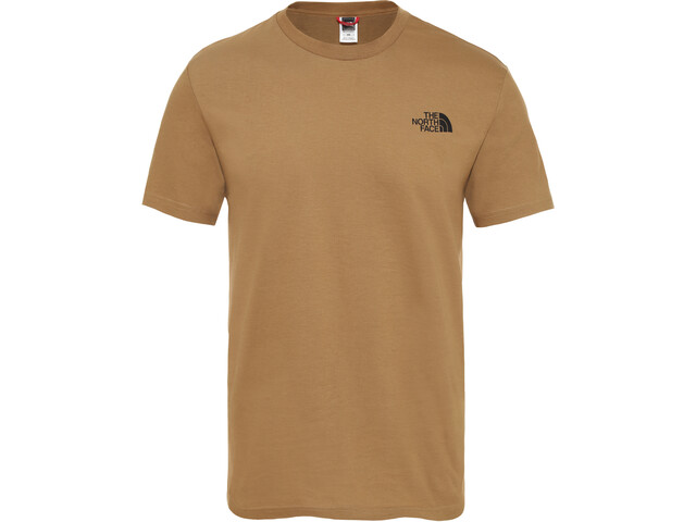 The North Face Simple Dome Lyhythihainen T-paita Miehet, british khaki
